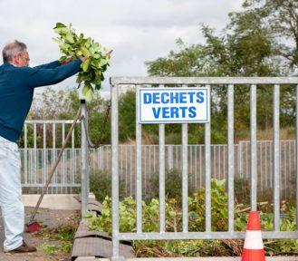 Plateforme déchets végétaux à Azay-sur-Cher